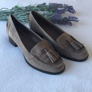 Ralph Lauren heeled Loafers size 8